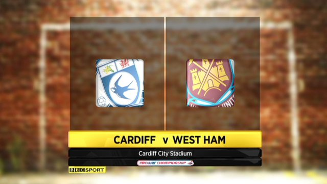 Highlights - Cardiff City 0-2 West Ham