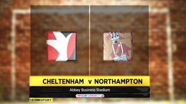 Highlights - Cheltenham 2-2 Northampton