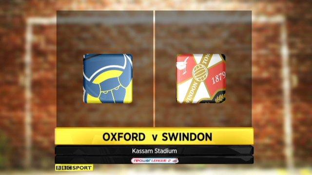 Highlights - Oxford Utd 2-0 Swindon