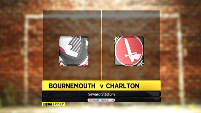 Highlights - Bournemouth 0-1 Charlton