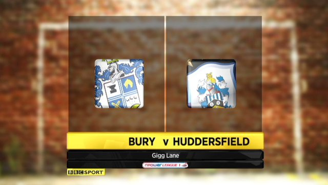 Highlights - Bury 3-3 Huddersfield