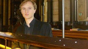 Choral scholar James Rhoads