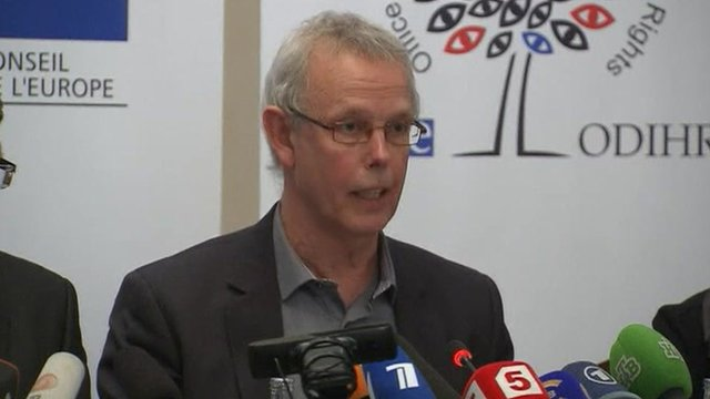 OSCE official Tiny Kox