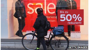 Germany's retailers posted gloomy figures for January
