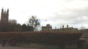 St Mary's Church and Thornbury Castle