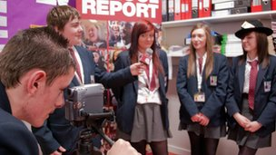 School Reporters tell the world what&#039;s happening on their patch