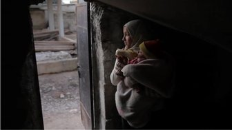 Homs refugees - 5 March 2012