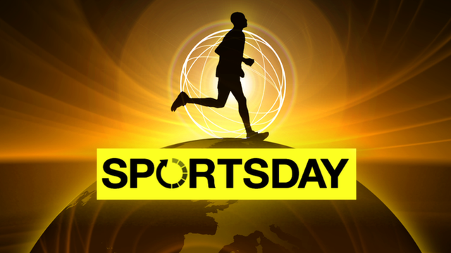 Watch the latest sport news on the BBC news channel