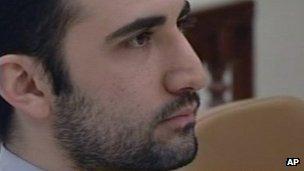Amir Mirzai Hekmati (27 December 2011)