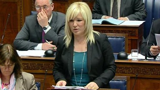 Agriculture Minister Michelle O'Neill made a statement on a recent North South Ministerial Council (NSMC) meeting.