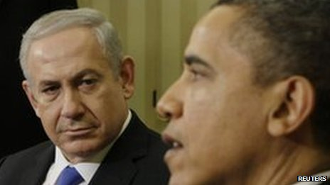 Israeli PM Netanyahu and President Obama