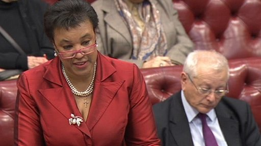 Shadow attorney general Baroness Scotland of Asthal