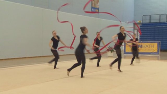 Rhythmic gymnasts for Team GB