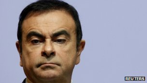 Carlos Ghosn, chief executive of Nissan and Renault