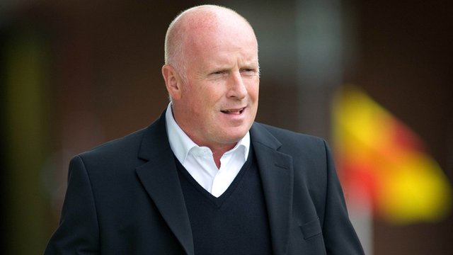 Dundee United boss Peter Houston