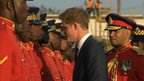Prince Harry visits Jamaica
