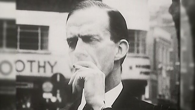 A man smoking in 1962
