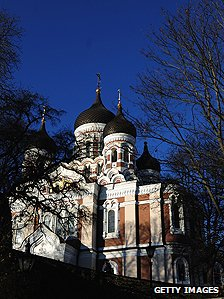 Alexander Nevsky Cathedral in Tallin