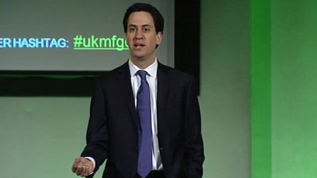 Ed Miliband at EEF Manufacturing Conference