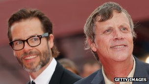Guy Pearce and Todd Haynes