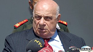 Turkish-Cypriot leader Rauf Denktash
