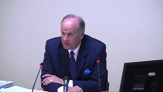 The former Metropolitan Police Commissioner, Lord Stevens