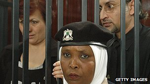 Bulgarian nurse in a Libyan court