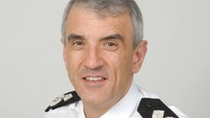 Neil Rhodes, Lincolnshire Police's new Chief Constable