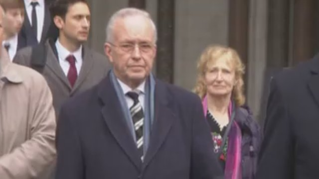 Prof John Walker-Smith outside the High Court