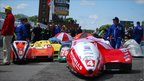 A Isle of Man TT sidecar