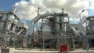 Vivergo bioethanol plant at Saltend near Hull