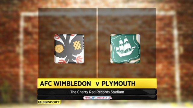 AFC Wimbledon 1-2 Plymouth