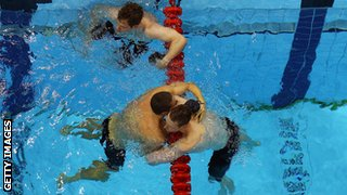 Pavoni denied British record holder Michael Rock in the 200m butterfly