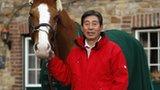 70-year-old Olympian Hirosi Hoketsu