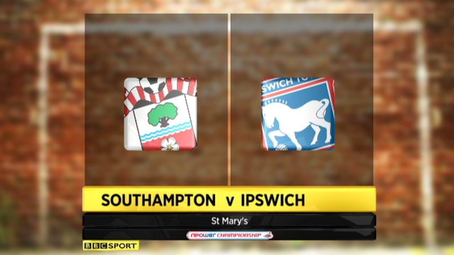 Southampton 1-1 Ipswich
