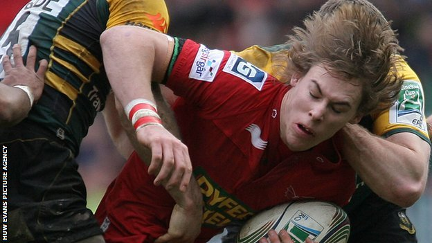 Scarlets full-back Liam Williams