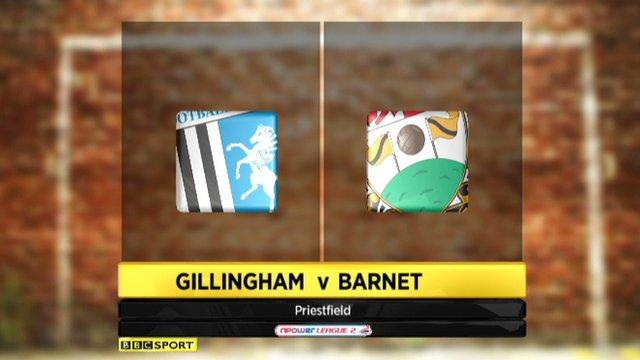 Gillingham 3-1 Barnet