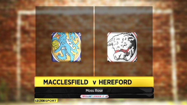 Macclesfield 2-2 Hereford