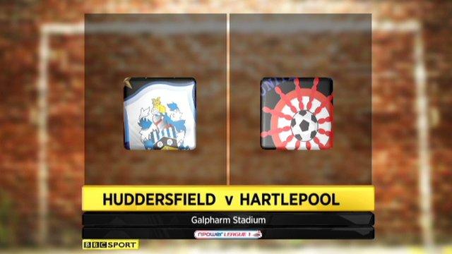 Huddersfield 1-0 Hartlepool