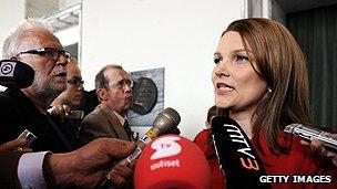 Former Finnish premier Mari Kiviniemi