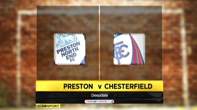 Preston 0-0 Chesterfield