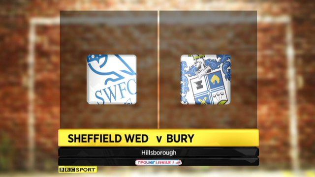 Sheffield Wednesday 4-1 Bury