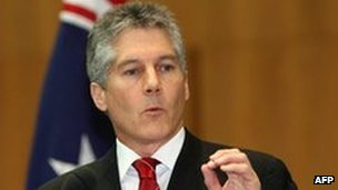 Australian Defence Minister Stephen Smith (file photo)