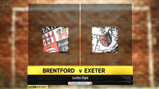 Brentford 2-0 Exeter