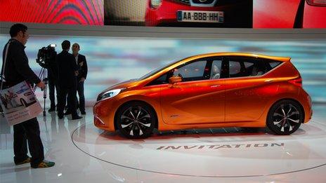 Nissan Invitation at the Geneva motor show