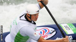 Campbell Walsh, British canoeist