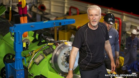 James Cameron (Mark Thiessen/National Geographic)