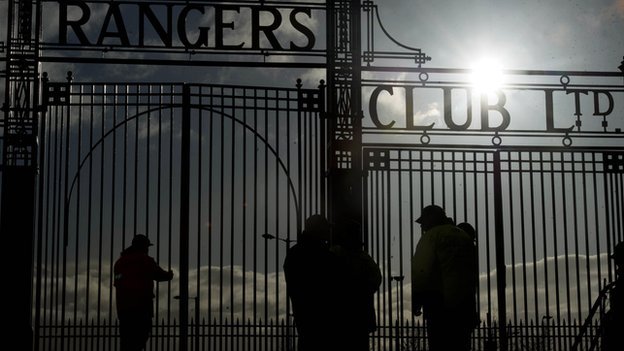 Ibrox Stadium could soon go the way of Third Lanark's Cathkin Park