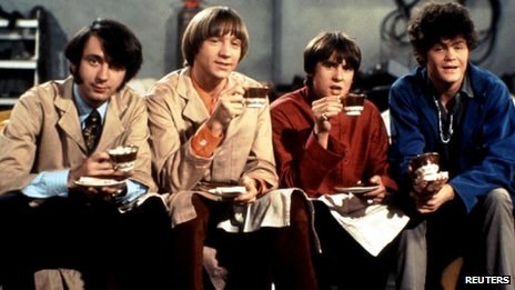 Michael Nesmith, Peter Tork, Davy Jones and Micky Dolenz