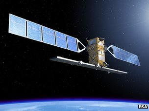 Artist's impression of Sentinel 1 (Esa)